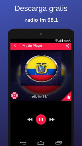radio fm 98.1 screenshot 1