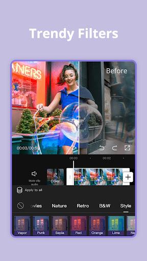 CapCut - Video Editor android2mod screenshots 13