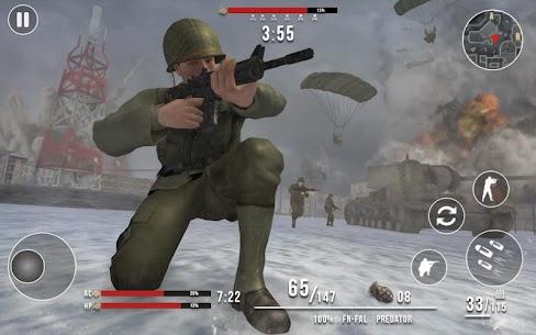 World War 2 Winter Heroes Mod Apk (Dumb Enemy/God Mode) 7