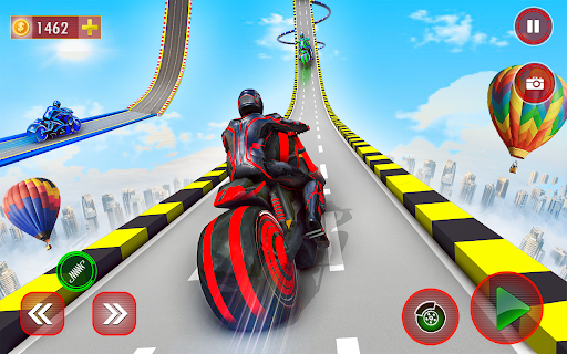 Mega Ramp Light Bike Stunts: New Bike Stunt Games 5.5 screenshots 13