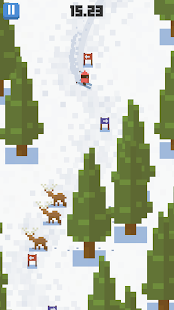 Skiing Yeti Mountain Screenshot