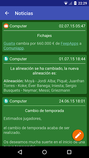 Comuniapp screenshots 2
