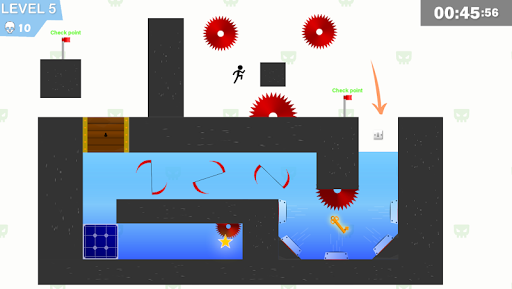 Stickman Impaled:Stick Parkour Platformer  screenshots 4