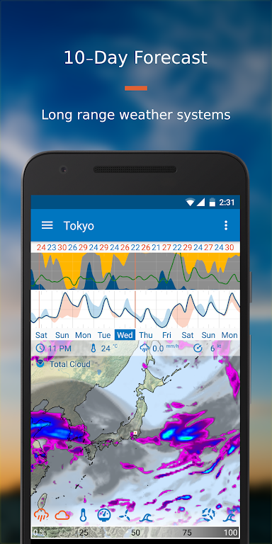 Flowx: Weather Map Forecast  poster 6