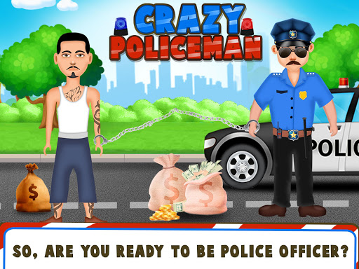 Crazy Policeman - Virtual Cops Police Station apkmartins screenshots 1