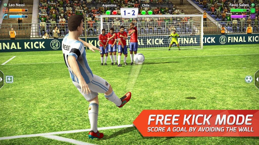 Final kick 2020 Best Online football penalty game  poster 1