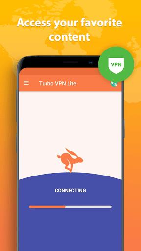 Turbo VPN Lite - Free VPN Proxy Server & Fast VPN Screenshots 4