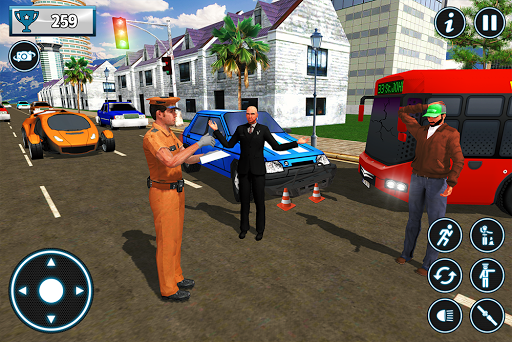 Police City Traffic Warden Duty 2019 android2mod screenshots 11