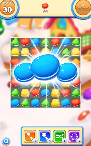 Cookie Macaron Pop : Sweet Match 3 Puzzle 1.5.4 screenshots 14