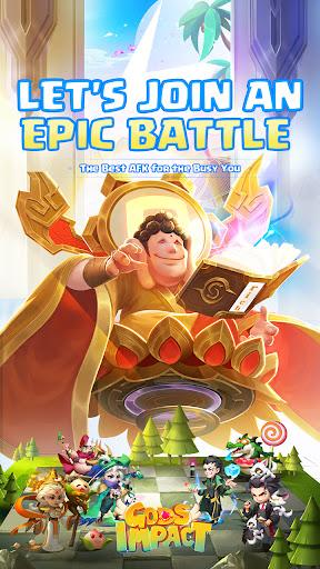 Gods Impact-Let's join an epic battle!  screenshots 1