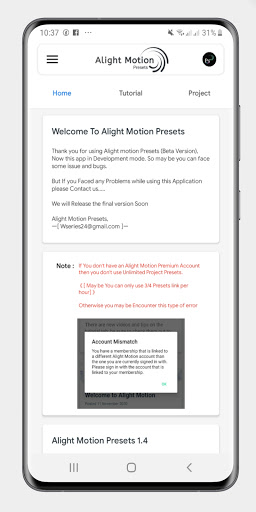 Alight Motion Presets 1.9 Screenshots 7
