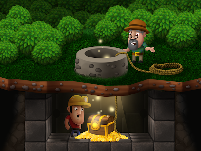Diggy's Adventure: Mine Maze Levels & Pipe Puzzles Screenshot