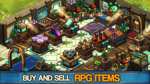 Tiny Shop: Cute Fantasy Craft, Design & Trade RPG  screenshots 2