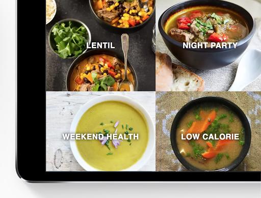 Foto do Soup Recipes - Soup Cookbook app