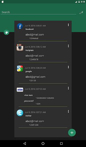 Password Saver 5.0 Screenshots 16