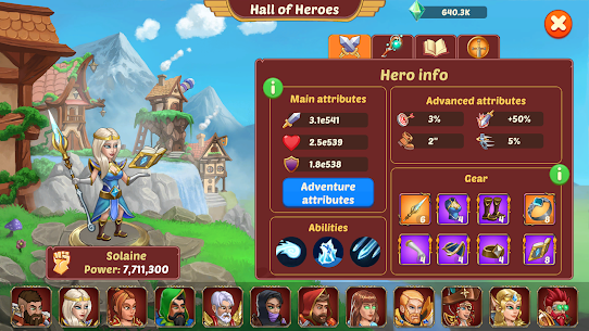 Firestone Idle RPG: Tap Hero Wars Mod Apk (God Mod) 2