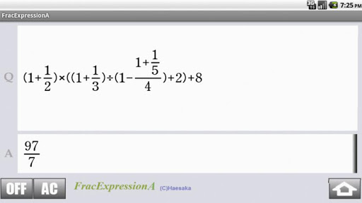 FracExpressionA For PC Windows (7, 8, 10, 10X) & Mac Computer Image Number- 12