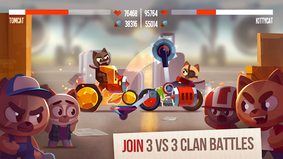 Mod Game CATS: Crash Arena Turbo Stars for Android
