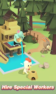 Idle Island: Build and Survive Mod Apk (Unlimited Money) 2