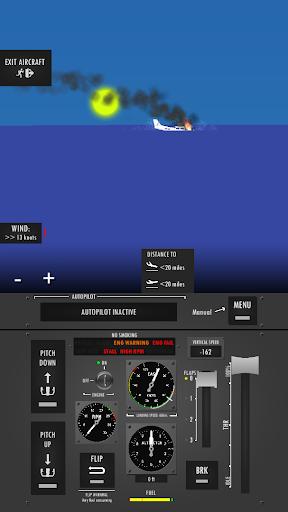 Flight Simulator 2d - realistic sandbox simulation  screenshots 4