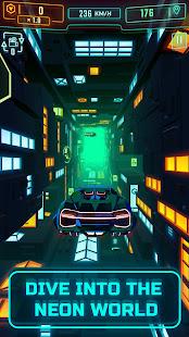 Neon Flytron: Cyberpunk Flying Car Simulator