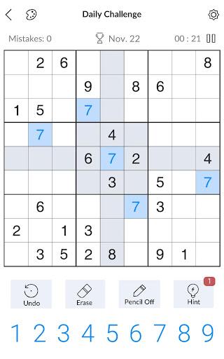 Sudoku - Free Classic Sudoku Puzzles 3.9.0 screenshots 9