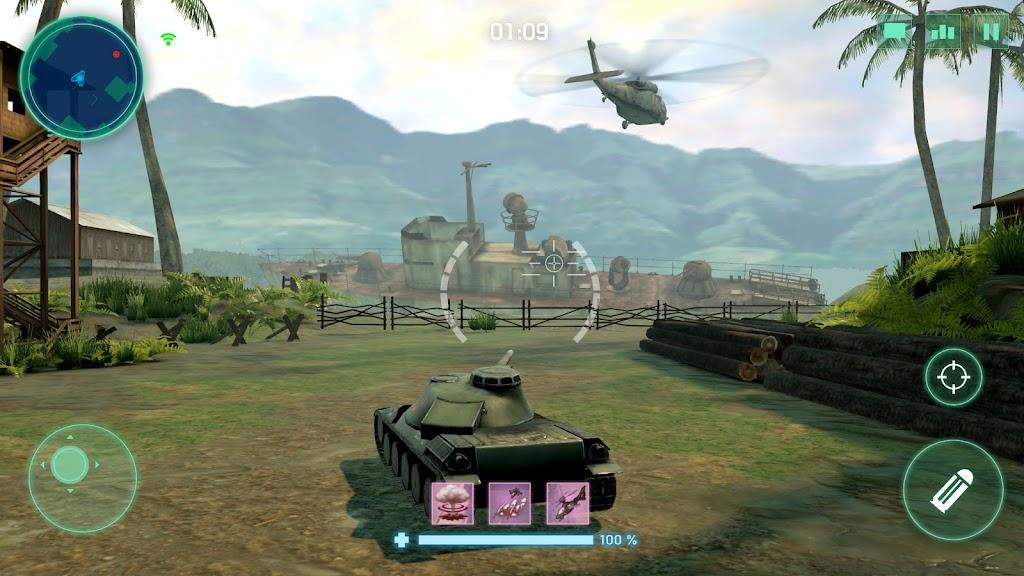 War Machines: Tank Army Game poster 1