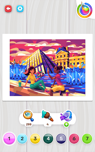 Color Stories - color journey, paint art gallery apkpoly screenshots 10