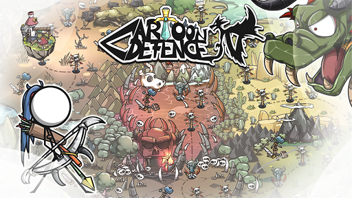 Cartoon Defense 4 android2mod screenshots 1