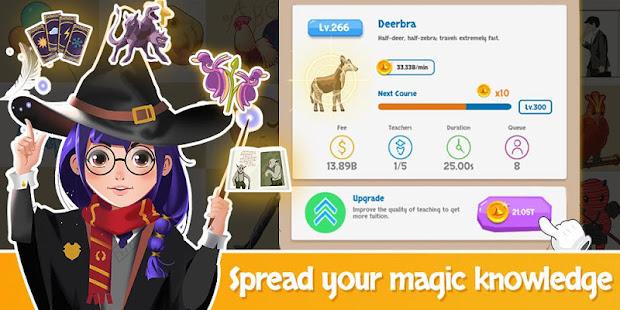 Idle Wizard School - Wizards Assemble  screenshots 1
