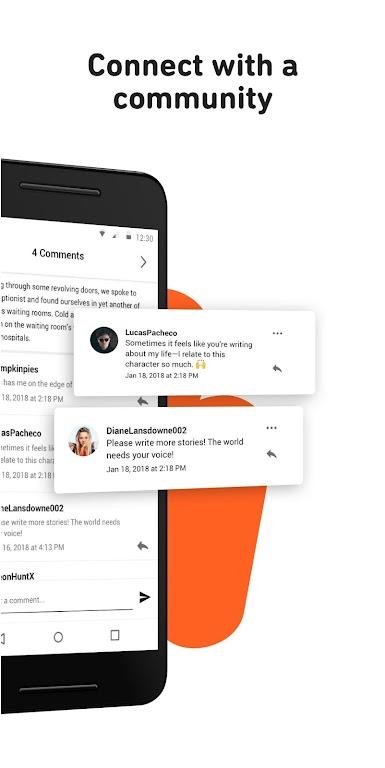 Wattpad – read books & stories – Apps on Google Play poster 4