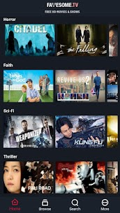 Fawesome v4.6 MOD APK – Watch FREE and Awesome Movies, TV shows 1