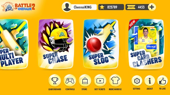Chennai Super Kings Battle Of Chepauk 2 Screenshot