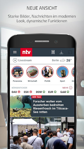 ntv Nachrichten  Screenshots 1