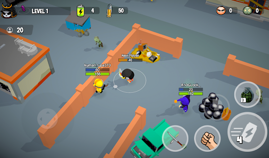 Zombie Battle Royale 3D io game offline and online 2.4.0 screenshots 1
