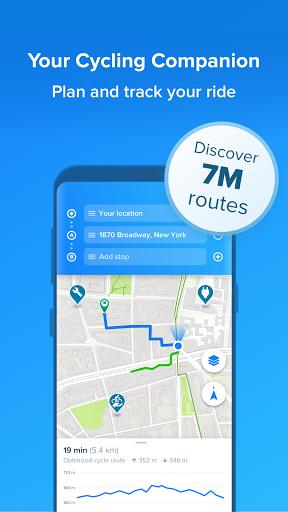 Bikemap - Your Cycling Map & GPS Navigation screenshots 1