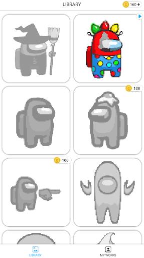 Real Among Us Pixel Art Coloring 1.1.0 screenshots 5