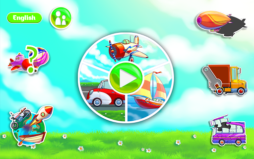 Learning Transport Vehicles for Kids and Toddlers 1.3.6 screenshots 1