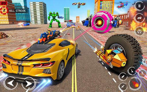 Drone Robot Car Driving - Spider Wheel Robot Game  screenshots 14