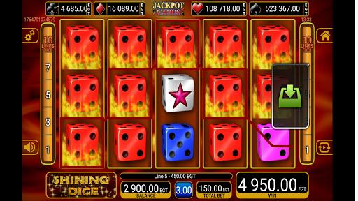 shining crown dice slot screenshot 1