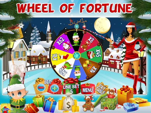 frosty christmas free slot screenshot 2