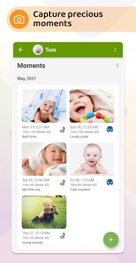 Baby Daybook - Breastfeeding & Sleeping Tracker android2mod screenshots 3