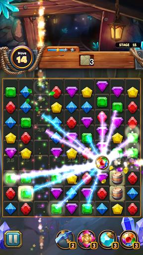 Jewels Cave Crush: Match 3 Puzzle  screenshots 14