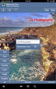 iWatermark Free Add Watermark Text Logo Pic TM Screenshot
