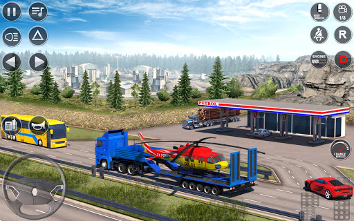 Euro Truck Driving Simulator 3D - Free Game  screenshots 14