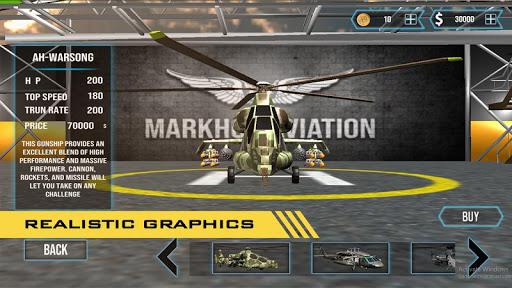 GUNSHIP COMBAT - Helicopter 3D Air Battle Warfare 1.45 screenshots 4