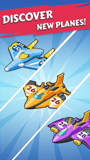 Merge Planes - Best Idle Relaxing Game apk  screenshots 4