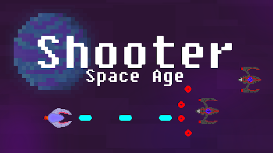 Shooter: Space Age! MOD APK 1.0.6 (Unlimited Money) 1