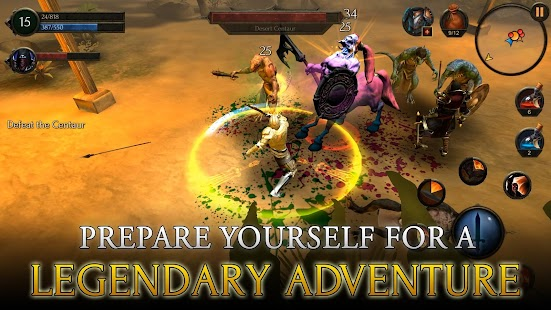 Arcane Quest Legends - Offline RPG Screenshot