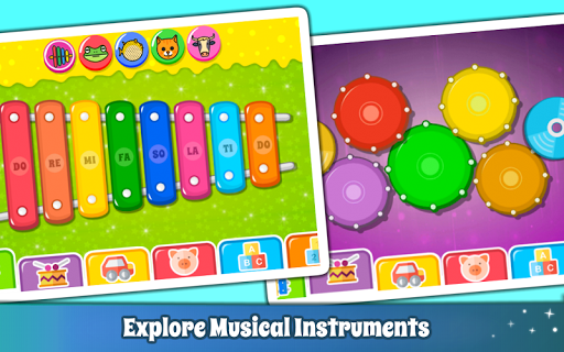 Baby Piano Games & Music for Kids & Toddlers Free 4.0 Screenshots 3